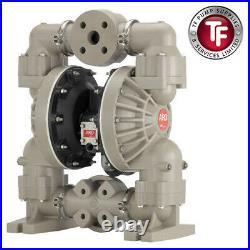 1-1/2 Ingersoll-Rand ARO air driven double diaphragm pump. 6661T3-3EB-C