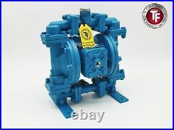1/2 Enviroflex Air Diaphragm Pump-Ali/Buna-N/Atex-Sandpiper/Marathon Compatible