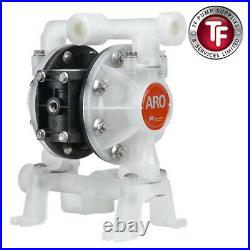 1/2 Ingersoll-rand Aro Air Driven Double Diaphragm Pump Pd05p-bps-ptt-b