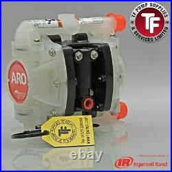 1/4 ARO Ingersoll-Rand Air Diaphragm Pump (Poly/PTFE) Dragonfly PD01P-HPS-PTT-A