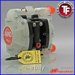 1/4 ARO Ingersoll-Rand Air Diaphragm Pump (Poly/Sant) Dragonfly PD01P-HPS-PAA-A