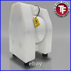 1/4 Dellmeco Air Diaphragm PumpPolyethylene Body-PTFE Seals DM08/10-PTF