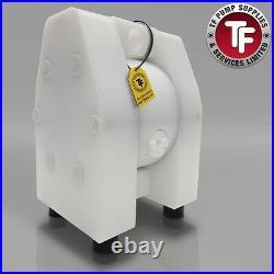 1/4 Dellmeco Air Diaphragm PumpSolid PTFE Body-PTFE Seals DM08/10-TTF