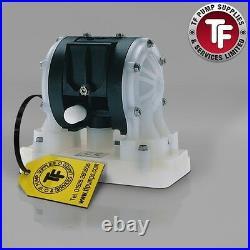 1/4 Graco Husky 205 / AT06/VA06 Air Diaphragm Pump (PVDF/Kynar/PTFE) D150A1