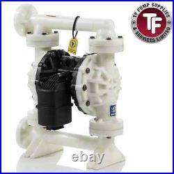 1.5 Graco Husky 15120 / AT40/VA40 Air Diaphragm Pump AODD (Poly/Sant) 654500
