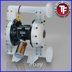 1.5 Graco Husky 1590 / AT40/VA40 Air Diaphragm Pump AODD (Poly/Sant) DB2966