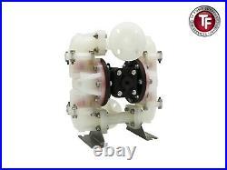 1 EF10 Enviroflex Air Diaphragm Pump Poly/PTFE-Sandpiper/Marathon Compatible