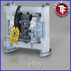 3/8 Graco Husky 307 / AT10/VA10 Air Diaphragm Pump AODD (Poly/PTFE) D3B911