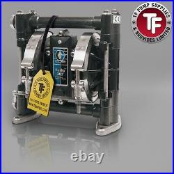 3/8 Graco Husky 307 / AT10/VA10 Air Diaphragm Pump ATEX (Acetal/Hytrel)- D3A255
