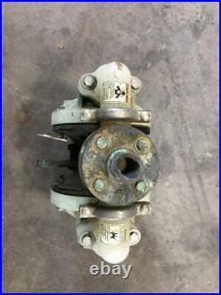 ARO 6661B3-344-C 1 PP/Iron Air Double Diaphragm Pump 120PSI 47GPM