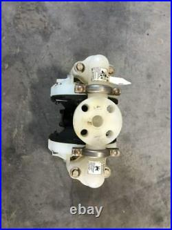 ARO 6661B3-344-C 1 PP/Iron Air Operated Double Diaphragm Pump 120PSI 47GPM