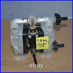 ARO PD01P-HPS-PTT-A 1/4 COMPACT air operated PNEUMATIC double diaphragm Pump