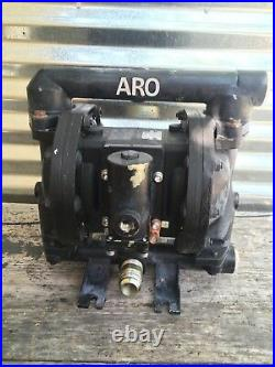 Aro Ingersoll Rand Pd10a-aap-ggg 1 Aluminum Double Diaphragm Pump Air Operated