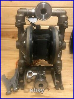 Aro Pd05p-ass-sst Diaphragm Pump-stainless Pump Body 1/2, Air Operated
