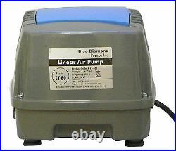 Blue Diamond ET 80 Septic or Pond Linear Diaphragm Air Pump Aerator