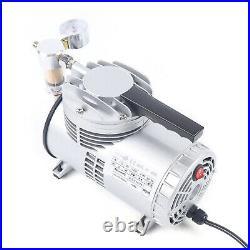Deep Air Vacuum Pump No Oil Lubrication Diaphragm Structure 1450/1700r. P. M