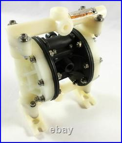 Double Diaphragm Air Pump PII. 50 Chemical Industrial Polypropylene 1/2 or 3/4