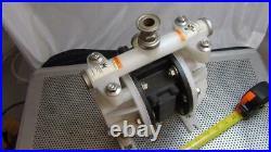 Flux Gerate GMBH FDM 12 PVDF/M1 Air Operated Diaphram Pump Never Installed