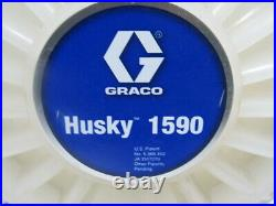 GRACO DB2666 HUSKY 1590 1-1/2 Air Operated Double Diaphragm Pump 100GPM Max