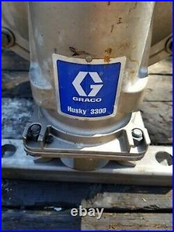 Graco Husky 3300 Air-Operated Diaphragm Pump 3300 3 inch Stainless Steel