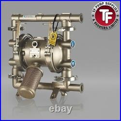 Graco SaniForce 1040 FDA Sanitary Air Diaphragm Pump ATEX FD1211 PTFE/PTFE