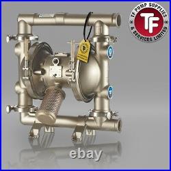 Graco SaniForce 1590 FDA Sanitary Air Diaphragm Pump ATEX FD2133 Polychlo/PTFE