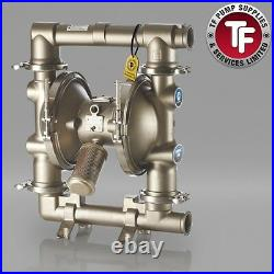 Graco SaniForce 2150 FDA Sanitary Air Diaphragm Pump ATEX FD3111 PTFE/PTFE