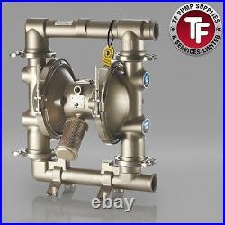 Graco SaniForce 2150 FDA Sanitary Air Diaphragm Pump ATEX FD3213 PTFE/PTFE