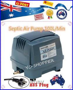 Hailea Hiblow 100L/M Domestic Septic Air Aerator Pump Compressor Treatment Plant