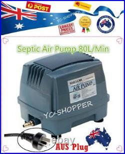 Hailea Hiblow 80L/M Domestic Septic Air Aerator Pump Compressor Treatment Plant