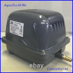 Hi Blow Air Pump Aqua Eco 65,80,100,120 Ltr Koi Pond Filter Low Watts