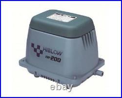 Hi Blow HP 200 Air Pump Linear Diaphragm Koi Pond Pump