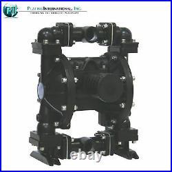 Industrial 2 Aluminum/Hytrel Double Diaphragm Air Pump, 220F, NEW IN BOX
