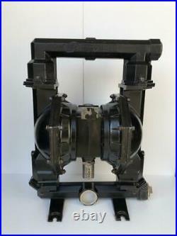 Ingersoll Rand Aro Pd20a-aap-ggg Air Double Diaphragm Pump 2 Aluminium