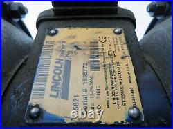Lincoln 85621 Series B 1-1/2 NPT Aluminum Air-Operated Double Diaphragm Pump