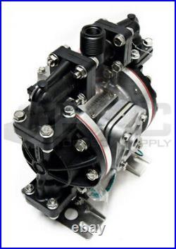 New Sandpiper S05b2g2txns000 1/2 Acetal Air Double Diaphragm Pump 14 Gpm 220f