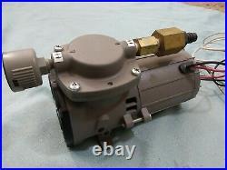 New THOMAS 207CDC20/12 Piston Vacuum Pump 1/10hp-12V 100PSI AIR Ride Brakes