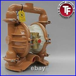 Nomad 1.5 NTG40 / M4 / T4 Clamp Band Air Diaphragm Pump Ali/Buna-Nitrile