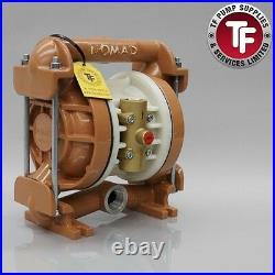 Nomad 1 NTG25 / M2 / T2 Clamp Band Air Diaphragm Pump Ali/Buna-Nitrile