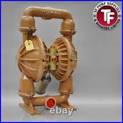 Nomad 2 NTG50 / M8 / T8 Clamp Band Air Diaphragm Pump Ali/Buna-Nitrile