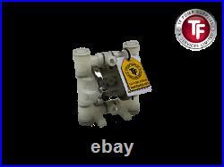 P. 025 1/4 Enviroflex Air Diaphragm Pump Polypropylene/PTFE-Wilden Compatible