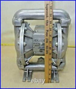 Roughneck #41769, Air-Operated Double Diaphragm Pump, Flow Rate 24 GPM 115 PSI