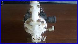 SANDPIPER S05B2K2TPBS100 Diaphragm Pump, Air Operated, 100 psi 7BAR