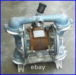 Sandpiper Eb1-m 1-1/4 X 1 Npt Steel Air & Stainless S/s Flow Diaphragm Pump