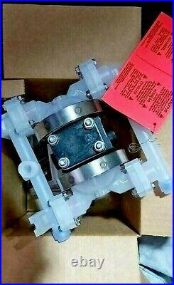 Sandpiper PB1/4 TS4PP air operated Double Diaphragm Pump