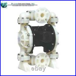 TF Double Diaphragm Air Pump Chemical Industrial Polypropylene 1.5 inch