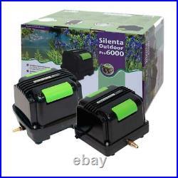 Velda Silenta Pro Air Pump Pond Aquarium Oxygen Fish Koi Oxygenator