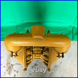 Versa-matic Alum E2AA2R220C-B-ATEX Air Diaphragm 2 Pump Buna N (Nitrile) USA