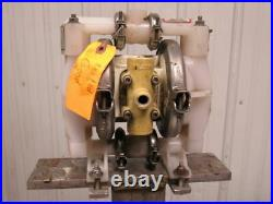 WILDEN P1 1/2 Air Operated Double Diaphragm Pump & S. S. Stand Tested