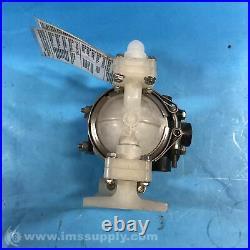 Warren Rupp PB 1/4, TT3PP Air Operated Diaphragm Pump FNIP